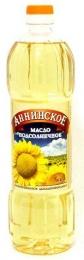 """Масло подсолнечное """"Аннинское"""" рафинированное дезодорированное"""
