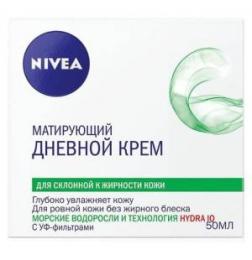 Матирующий дневной крем для лица Nivea для склонной к жирности кожи