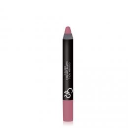 Матовая помада в карандаше Golden Rose Matte Lipstick Crayon 10