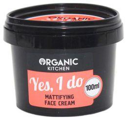 "Матовый крем для лица ""Yes, I do"" Organic Kitchen"