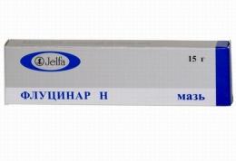 """Мазь для наружного применения """"Флуцинар Н"""""""