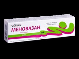 "Мазь ""Меновазан"" Vishpha"