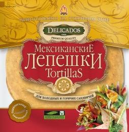 Мексиканские лепешки Delicados Tortillas пшеничные оригинальные
