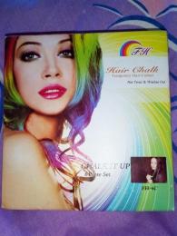 Мелки для волос цветные Color Chalk