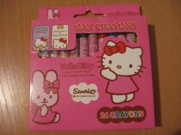 Мелки восковые Sanrio Disney Hello Kitty Wax Crayons арт. 8024
