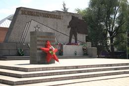 """Мемориал """"Вечный Огонь"""" воинам-бийчанам (Бийск)"""