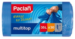 Мешки для мусора Paclan multitop 35л