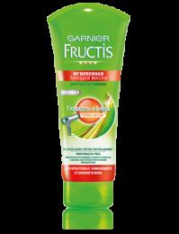 Мгновенная тающая маска Garnier Fructis Гладкость и Блеск