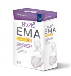 Молочная смесь для беременных и кормящих мам Nuppi Ema со вкусом банана