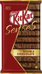 """Молочный и темный шоколад с хрустящей вафлей Nestle """"KitKat"""" Senses Double chocolate"""