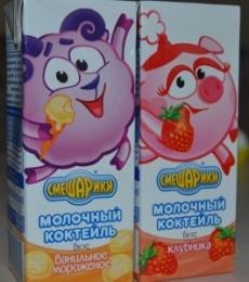 """Молочный коктейль """"Смешарики"""""""