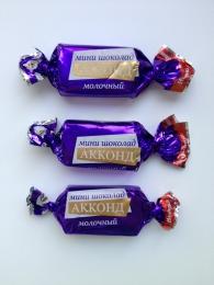 """Молочный мини шоколад """"Акконд"""""""