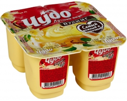 Молочный пудинг Чудо 3,0% вкус Ваниль
