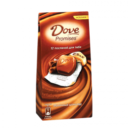 Молочный шоколад Dove Promises