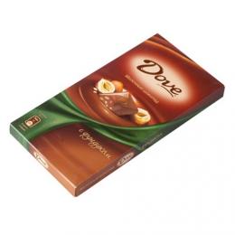 Молочный шоколад Dove с фундуком