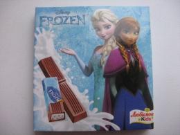Молочный шоколад Любимов Kids Disney Frozen с йогуртовой начинкой и вкусом клубники