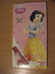 """Молочный шоколад Любимов Kids Disney """"Принцессы"""" с йогуртовой начинкой и вкусом клубники"""