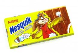Молочный шоколад с молочной начинкой Nesquik