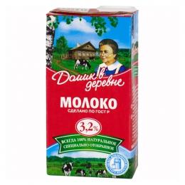 """Молоко """"Домик в деревне"""" 3,2%"""