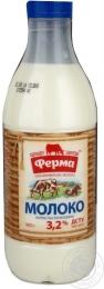 """Молоко """"Ферма"""" 3,2%"""