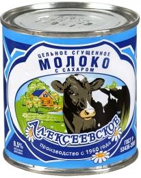 """Молоко цельное сгущенное """"Алексеевское"""", 8,5%"""