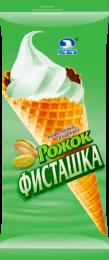 Мороженое-рожок «Челны Холод» Фисташка