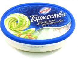 "Мороженое Инмарко ""Торжество"" миндально-фисташковое"