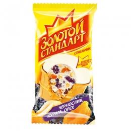 """Мороженое Инмарко """"Золотой стандарт"""" курага, чернослив, орехи"""