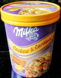 Мороженое Milka Cashew & Caramel
