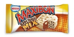 """Мороженое Nestle Maxibon """"Вафельный mix"""""""