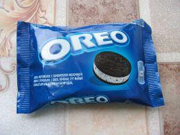 Мороженое Oreo с заменителем молочного жира и печеньем