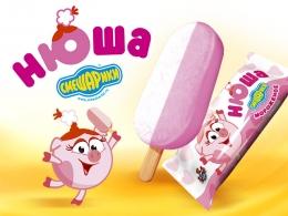 """Мороженое Русский холод Смешарики """"Нюша"""""""