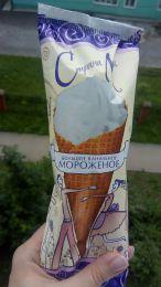"""Мороженое большое ванильное Страна любви """"Вологодское Мороженое"""""""