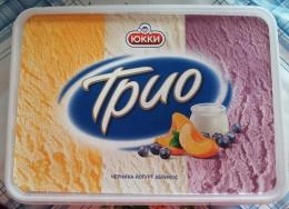 "Мороженое Юкки ""Трио"" черника-йогурт-абрикос"