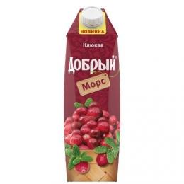 """Морс """"Добрый"""" Клюква"""