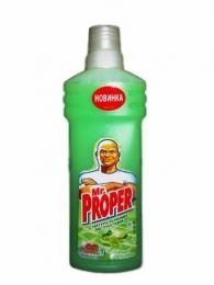 """Моющая жидкость для полов и стен """"Mr. Proper"""" бодрящий лайм и мята"""