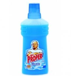 """Моющая жидкость для полов и стен Mr. Proper """"Океанская свежесть"""""""