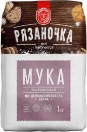 """Мука """"Рязаночка"""" пшеничная из цельносмолотого зерна"""
