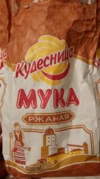 """Мука ржаная хлебопекарная обдирная """"Кудесница"""""""