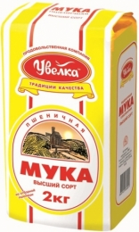 """Мука """"Увелка"""" пшеничная, высший сорт"""