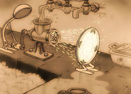 """Мультфильм """"Как тарелка сбежала с ложкой"""" (1933)"""