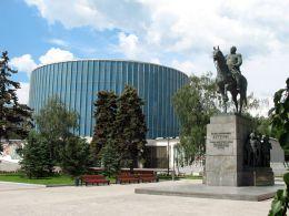 """Музей-панорама """"Бородинская битва"""" 1812 (Москва)"""