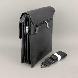 Мужская сумка через плечо Gorangd 8813-BLACK