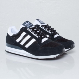Мужские кроссовки Adidas zx500 black / white