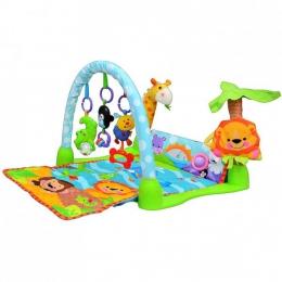 """Музыкальный коврик Joy Toy """"Умный малыш"""" дуга с подвесными игрушками"""