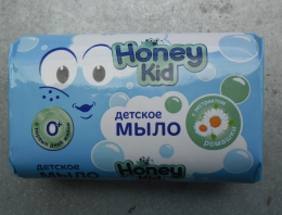 Мыло детское твердое Hohey Kid с экстрактом ромашки
