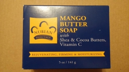 Мыло Nubian Heritage Mango Butter Soap with Shea & Cocoa, vitamin C