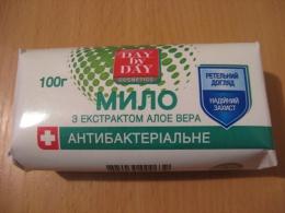 """Мыло с экстрактом алоэ вера """"Day By Day Cosmetics"""" антибактериальное"""