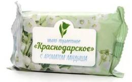 """Мыло туалетное Меридиан """"Краснодарское"""" с ароматом ландыша"""