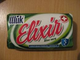 """Мыло туалетное Шик """"Elixir"""" Aloe vera Antibacterial Effect"""